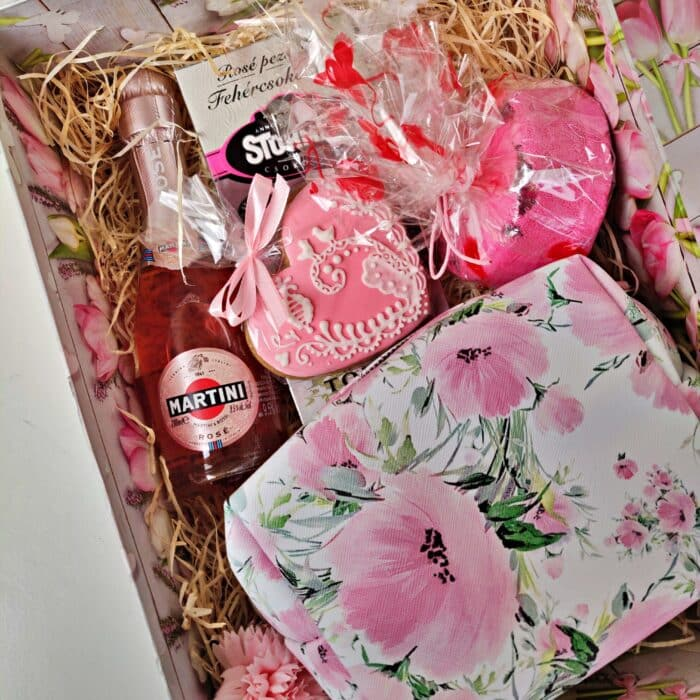 candy girl ajándék doboz