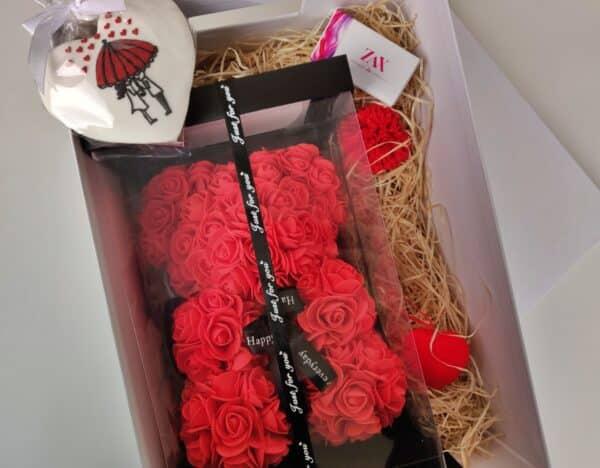 bear my valentine ajándék doboz